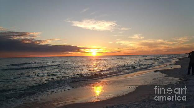 Destin Florida Sunset by Craig Calabrese