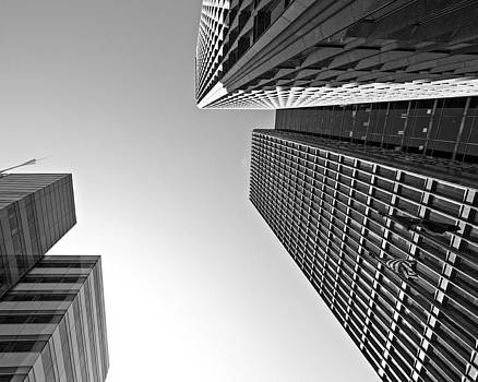 Detroit Buildings by Alanna Pfeffer