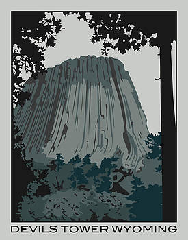 Devils Tower by Patrick Collins