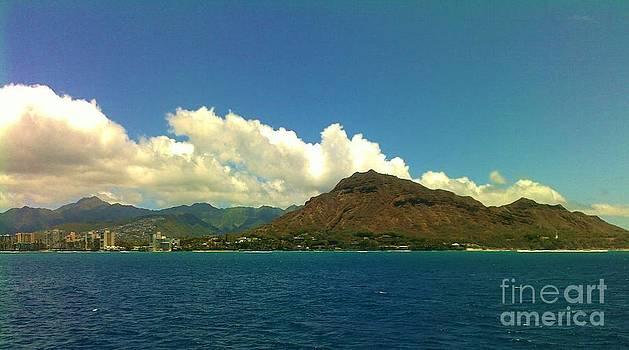 Diamond Head Oahu by Brigitte Emme