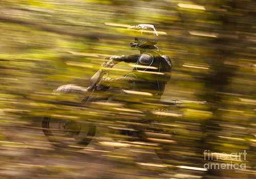 Angel  Tarantella - dirt bike race