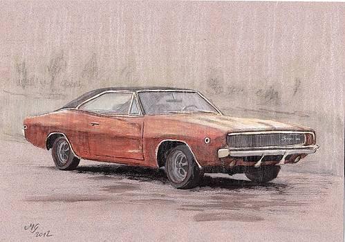 Dodge charger by Milena Gawlik