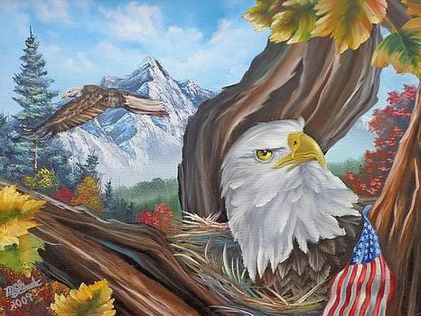 Don't touch his flag  by Darren McGrath