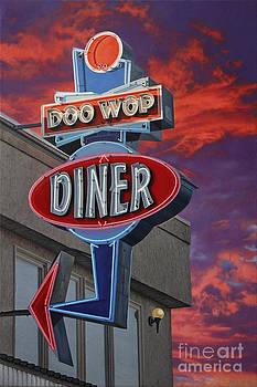 Doo Wop Diner by Stephen Shub