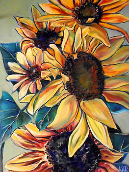 Dooley's Sunflowers by Art by Kar
