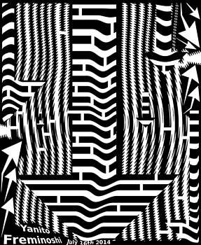 Down Arrow Maze by Yanito Freminoshi