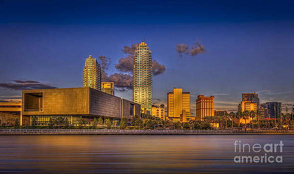 Downtown Tampa by Marvin Spates