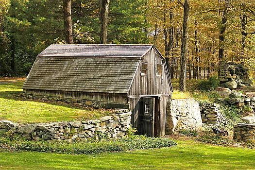 Dugout Barn by Chris Burke