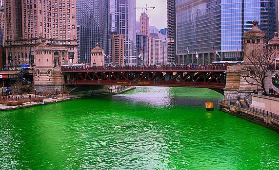 Dyeing The Chicago River Green by Jerome Lynch