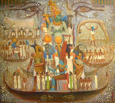 Egyptians by Valentina Kondrashova