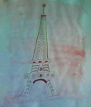 Eiffel Tower by Karen Jensen