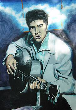 Elvis by John Sibley