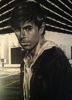Enrique Iglesias by Carl Baker