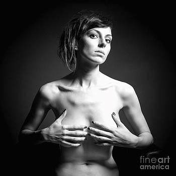 Erotic Monochrome Portrait by Jochen Schoenfeld