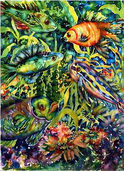 Fish Tales III by Ann  Nicholson