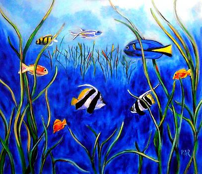 Fishscape Side 2 by Art by Kar