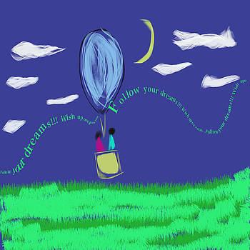 Follow Your Dreams by Savvycreative Designs