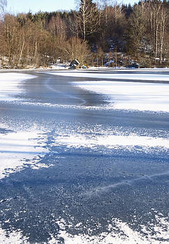 Frozen pond by Patrick Kessler