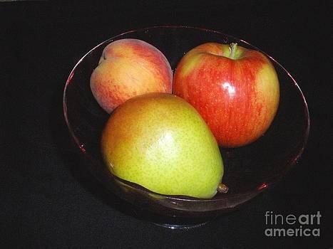 Fruit Bowl by Freda Sbordoni