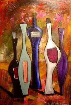 Funky Wine 7 by Gino Savarino