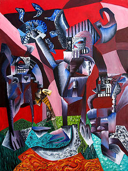 Gaungian dimensional by Ryan Demaree