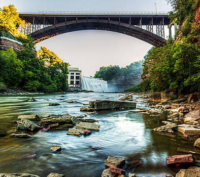 Genesee River by Tim Buisman