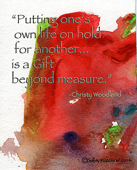 Gift beyond Measure by Christy Woodland
