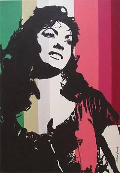 Gina Lollobrigida as Esmeralda by Milena Gawlik