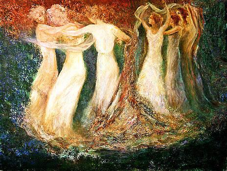 Girl's roundelay by Sylva Zalmanson