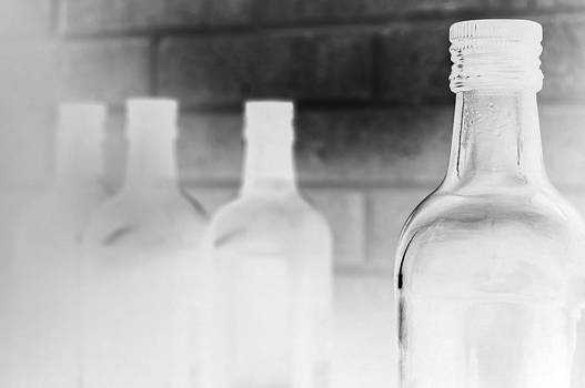Glass Bottles by Photography Photography