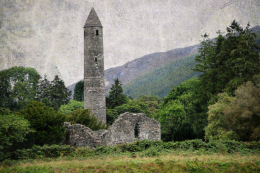 Jenny Rainbow - Glendalough Tower. Ireland