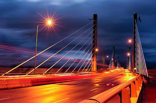 Golden Ears Bridge by Wesley Allen Shaw