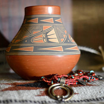 Graceful Pottery by Mary Zeman