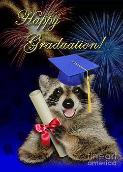 Jeanette K - Graduation Raccoon