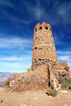 Grand Canyon Old Desert View Watchtower by Bhupendra Singh