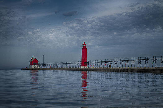 Jack R Perry - Grand Haven South Pier Lighthouse