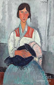Amedeo Modigliani - Gypsy Woman with Baby
