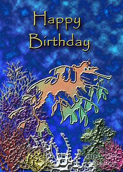 Jeanette K - Happy Birthday Seahorse
