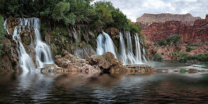 Havasupai Panorama by Larry Pollock