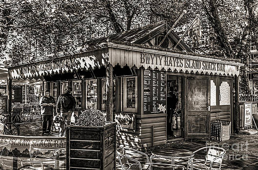 Steve Purnell - Hayes Island Snack Bar Cardiff Mono