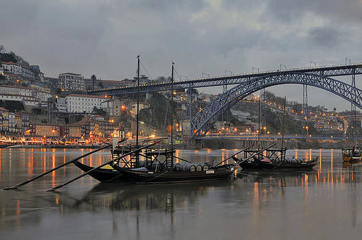 Historical part of Porto and the Douro river by Ayhan Altun