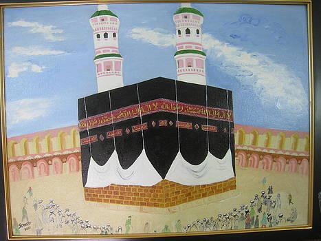 house of Allah by Saman Khan