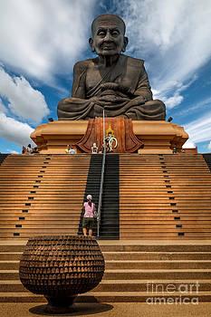 Adrian Evans - Huay Mongkol Temple