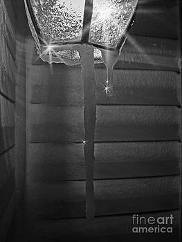 Jeanette K - Icicles on Lamp