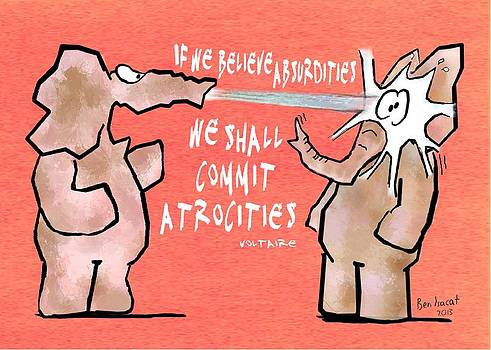 If We Believe Absurdities by Ben Isacat