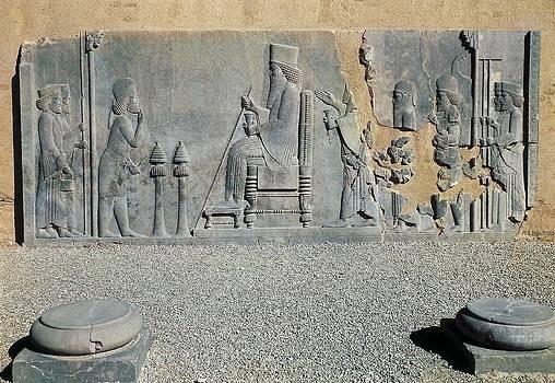 Iran. Persepolis. Palace Of Darius by Everett