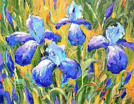 Irises by Dmitry Spiros