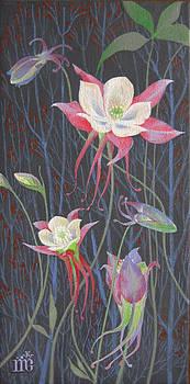 Japanese Flowers by Marina Gnetetsky