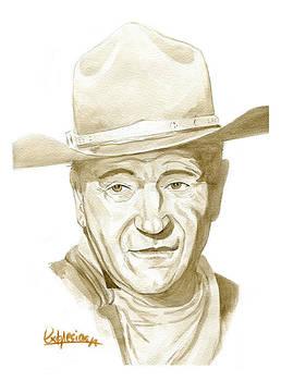 John Wayne by David Iglesias