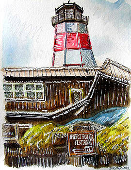 John's Pass Lighthouse by Douglas Durand